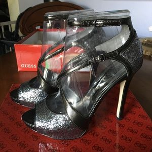 Guess Strappy Heels Size 8.5